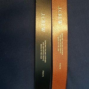 J Crew Belts